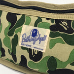 A Bathing Ape Bape Vintage ABC Camo Pouch Green
