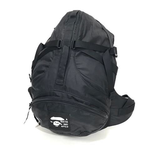 A Bathing Ape Bape Vintage Ripstop Nylon Backpack
