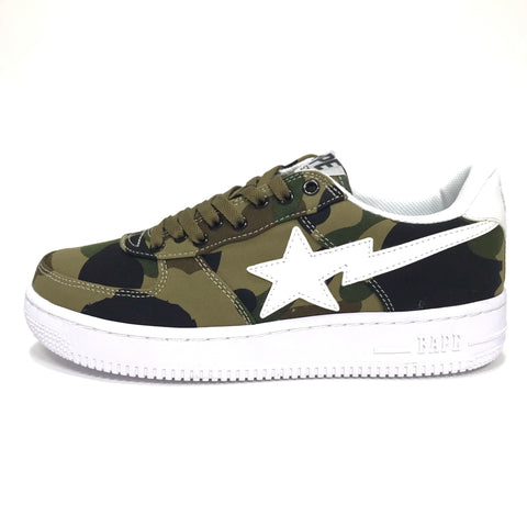[8.5] DS! A Bathing Ape Bape OG 1st Camo Bape Sta Shoes