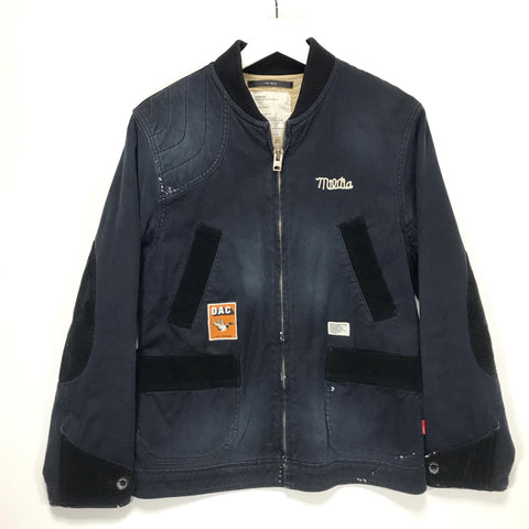 [S] WTaps Dazed and Confused Dept Hunting Jacket Navy