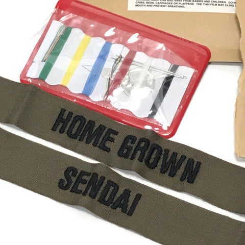 DS! WTAPS Sendai Limited DIY Home Grown Name Tapes