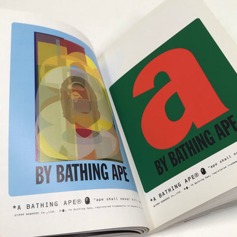 A Bathing Ape Bape Mania Vintage Book