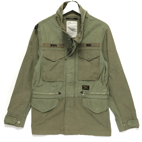 [M] WTaps12SS Ripstop M-65 Jacket Olive