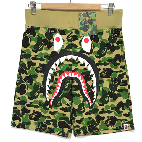 [S~XL] DS! A Bathing Ape Bape ABC Camo Shark Sweat Shorts