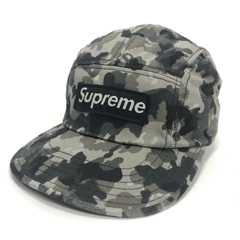 Supreme Vintage German Camo 6 Panel Camp Cap