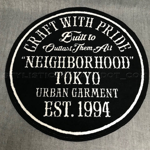 Neighborhood CWP 1994 Logo Rug Mat Black