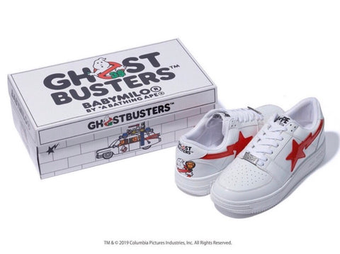 [8~10] DS! Bape x Ghost Busters Bape Sta Low Shoes