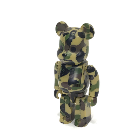 A Bathing Ape Bape x Medicom 100% 1st Camo Bearbrick Yellow