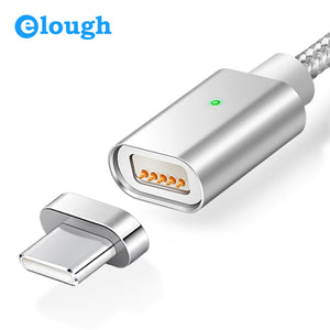Magnetic USB-C Cable for Android, Huawei, Power Bank - Aerosumo
