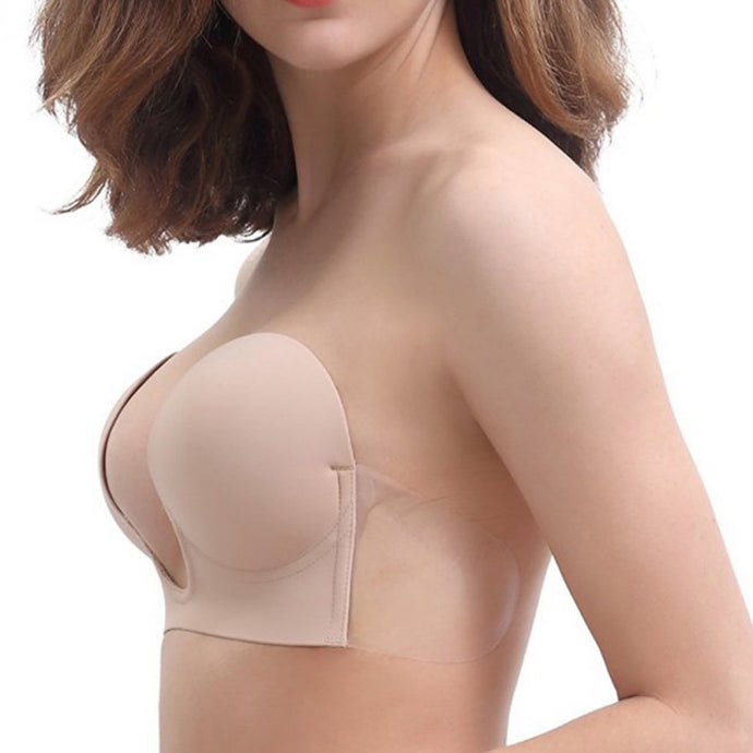 Invisible Backless Adhesive Push Up Bra - Aerosumo