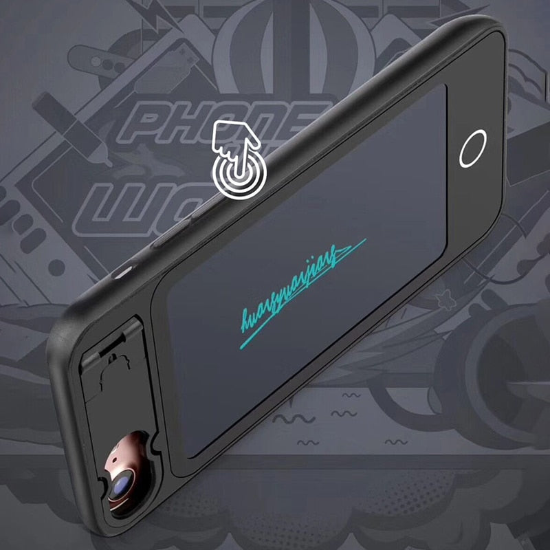 Draw designer™ LCD Wordpad Phone Case - Aerosumo