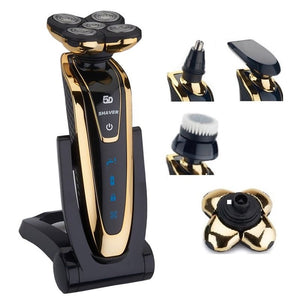 Wet/dry 5D Rechargeable Shaver For Men - Aerosumo