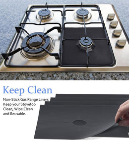 Gas Stove Protector ( 4 pcs ) Reusable - Aerosumo