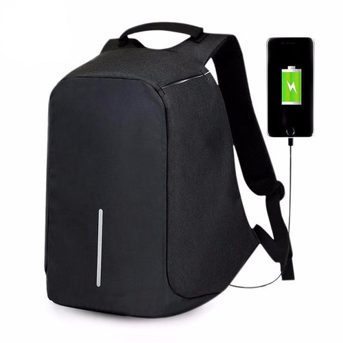 Anti Theft Backpack Bag  USB Charge - Aerosumo