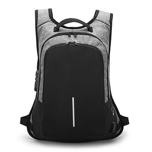 CARCHI USB Business Anti theft Backpack For Men - Aerosumo