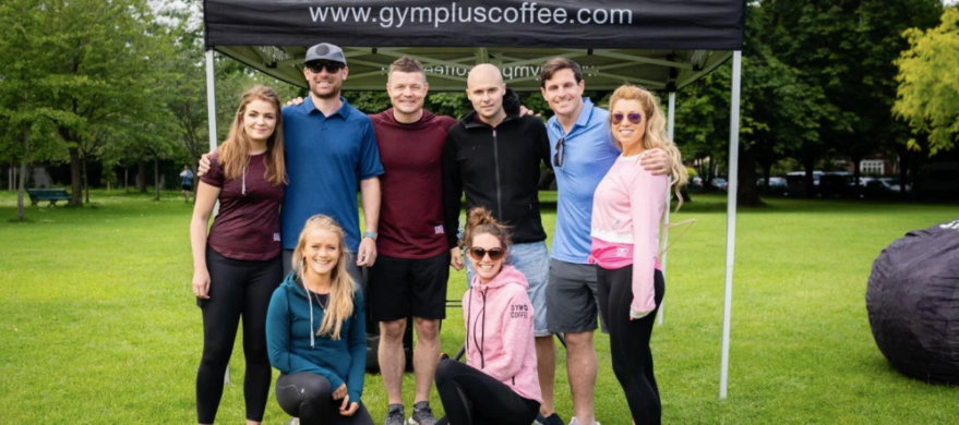 Gym+Coffee Team with Head of Community Brian O'Driscoll