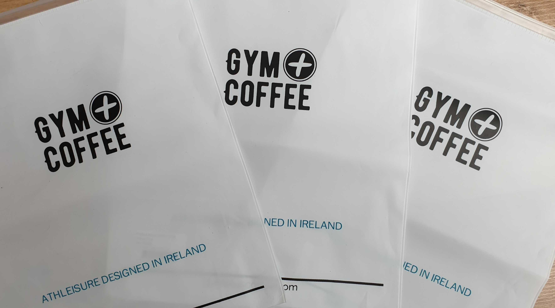 Gym+Coffee Poly Clothing Bags