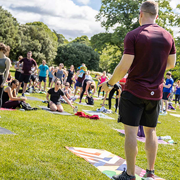 Gym+Coffee Summer Stretch Event