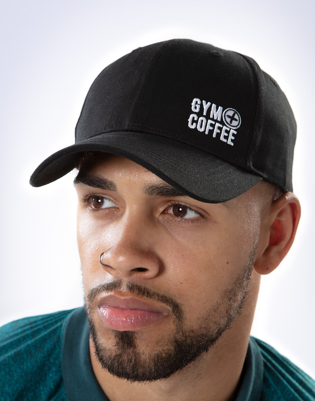Gym Plus Coffee Beanie Hats Off Cap in Black Designed in Ireland