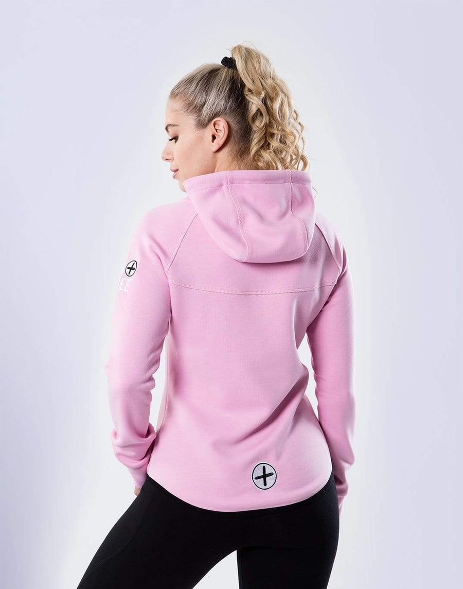 Gym Plus Coffee Chill Hoodie Women's Chill Hoodie in Dusty Pink Designed in Ireland