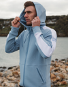 Gym Plus Coffee Hoodie Striker Hoodie in Blue Designed in Ireland