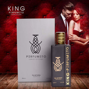 "KING: Energetic Fragrance (100ml EDP) <p style=""font-size:15px; color: green;"">Lasts 8-10 Hours</p>"