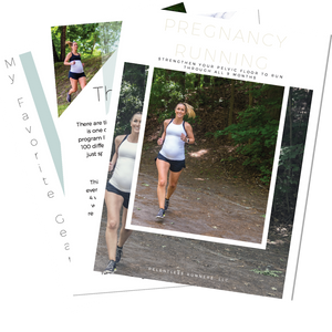 Pregnancy Running Training eBook