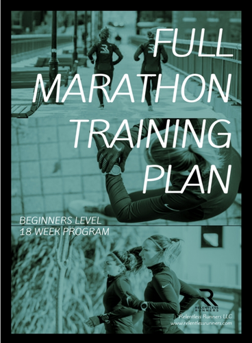Full Marathon Beginner Training Plan