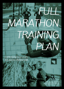 Full Marathon Experienced Training Plan