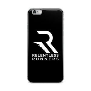 Relentless Runners Black iPhone Case