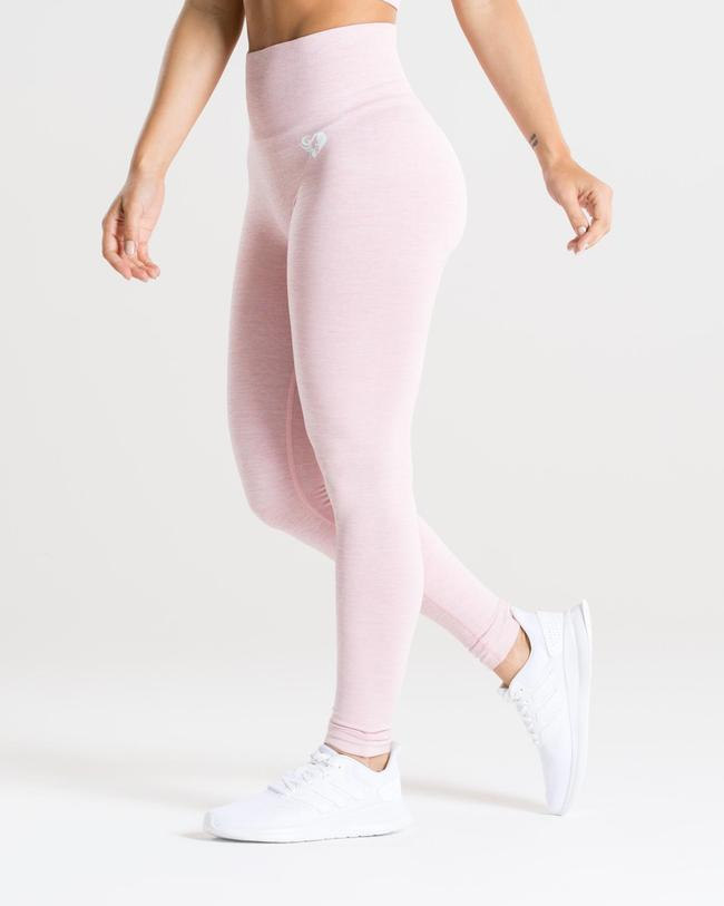 MOVE SEAMLESS LEGGINGS | PINK MARL