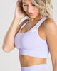 POWER SEAMLESS SPORTS BRA | LILAC