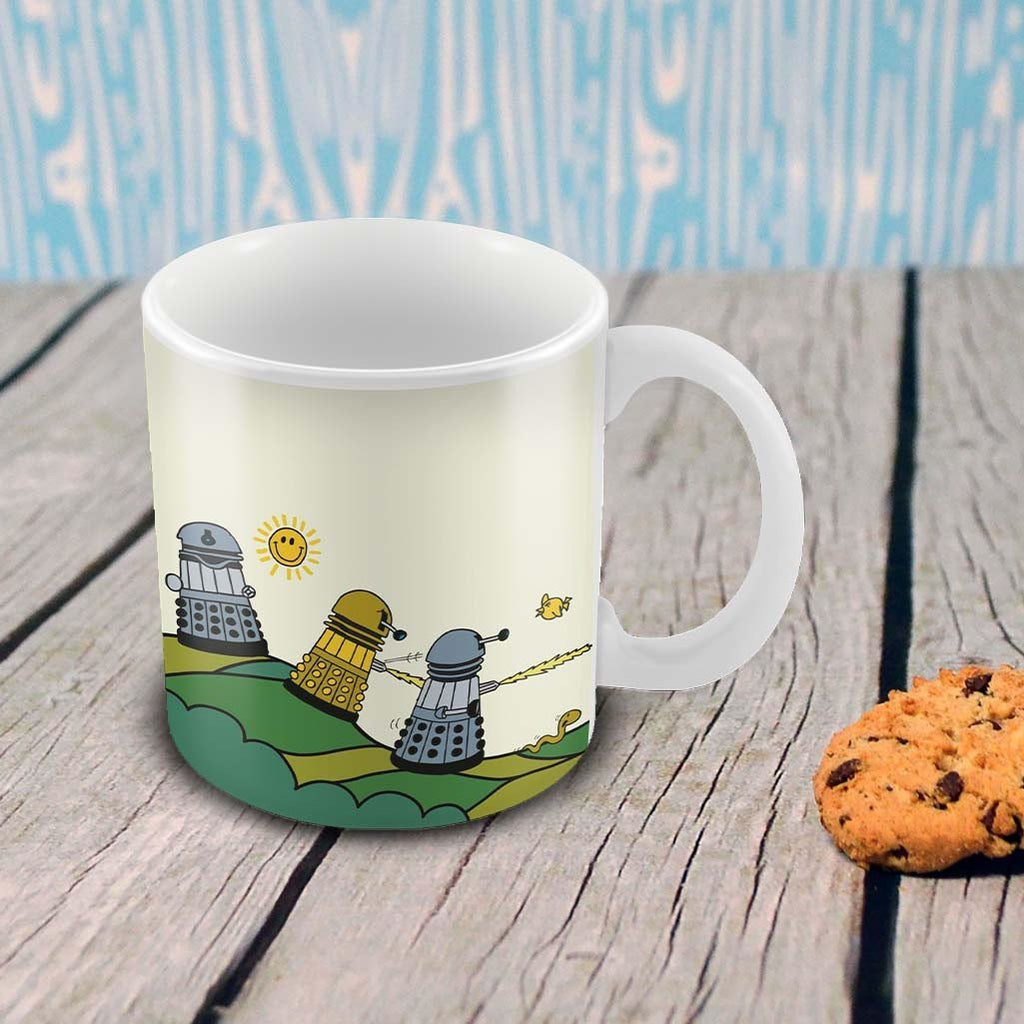 Mr.Men - Daleks, Rolling Hills Mug