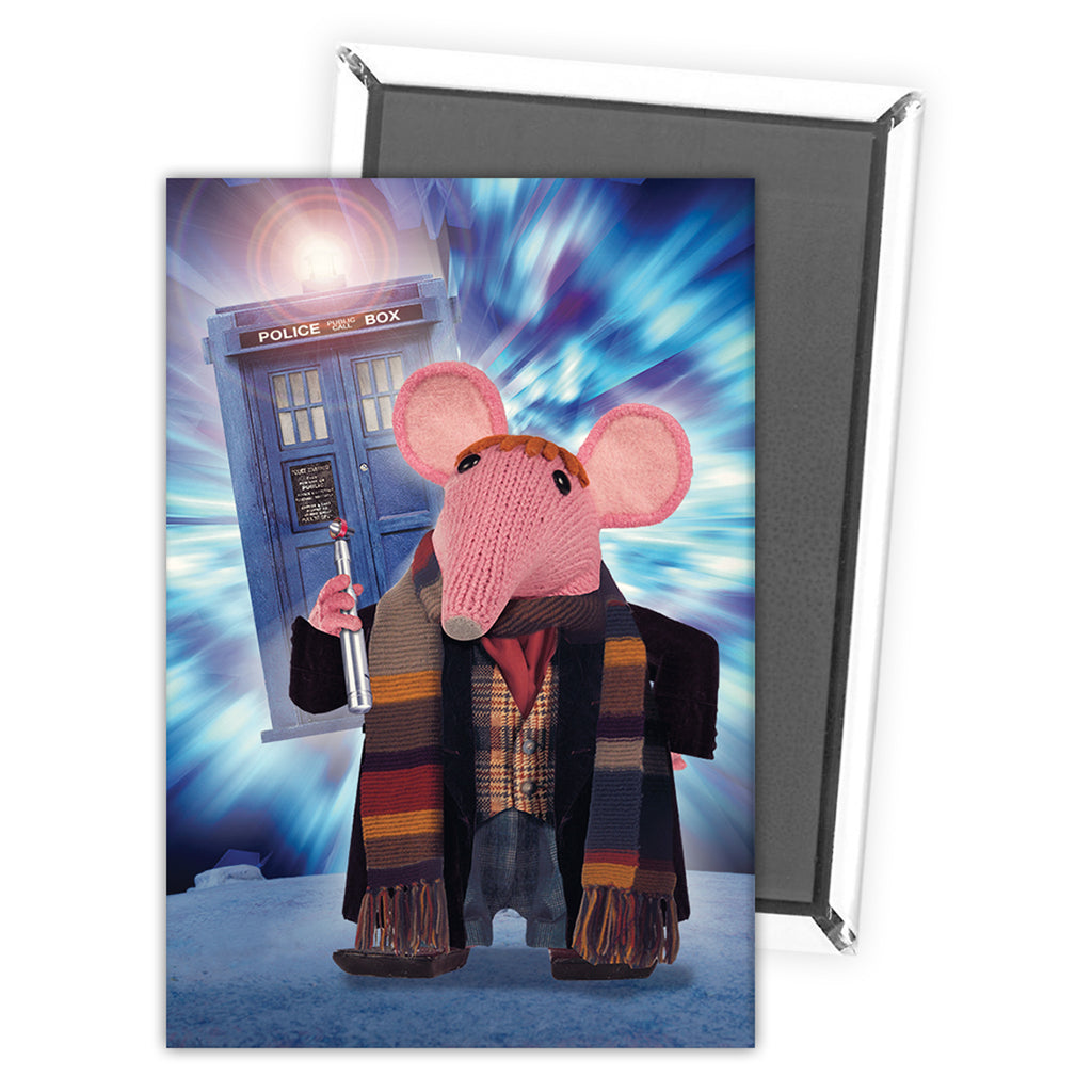 DoppelClangers - Fourth Doctor Magnet