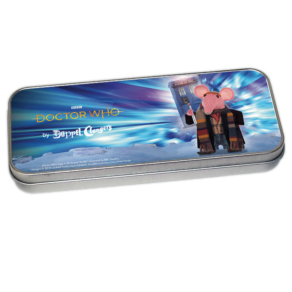 DoppelClangers - Fourth Doctor Pencil Tin