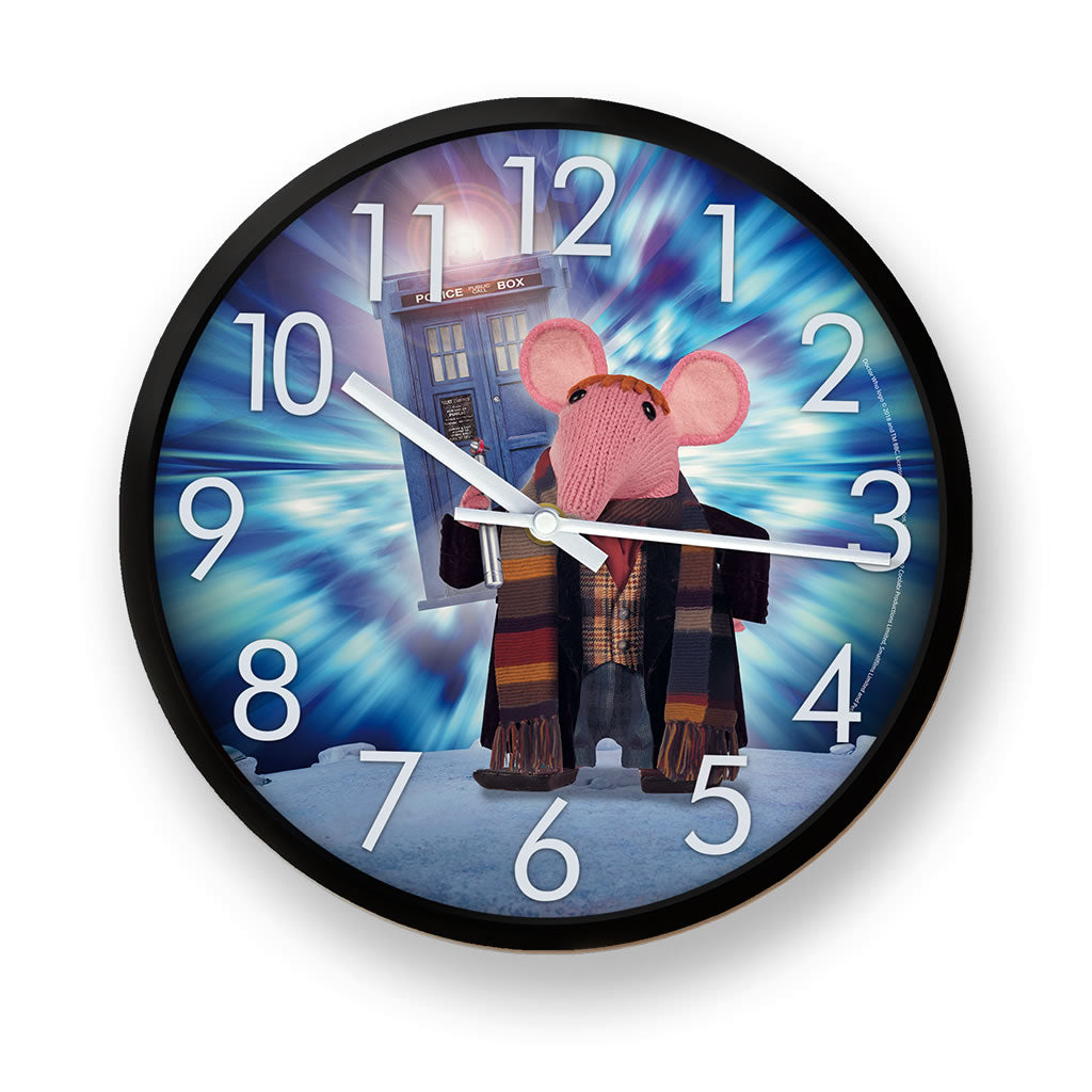 DoppelClangers - Fourth Doctor Clock