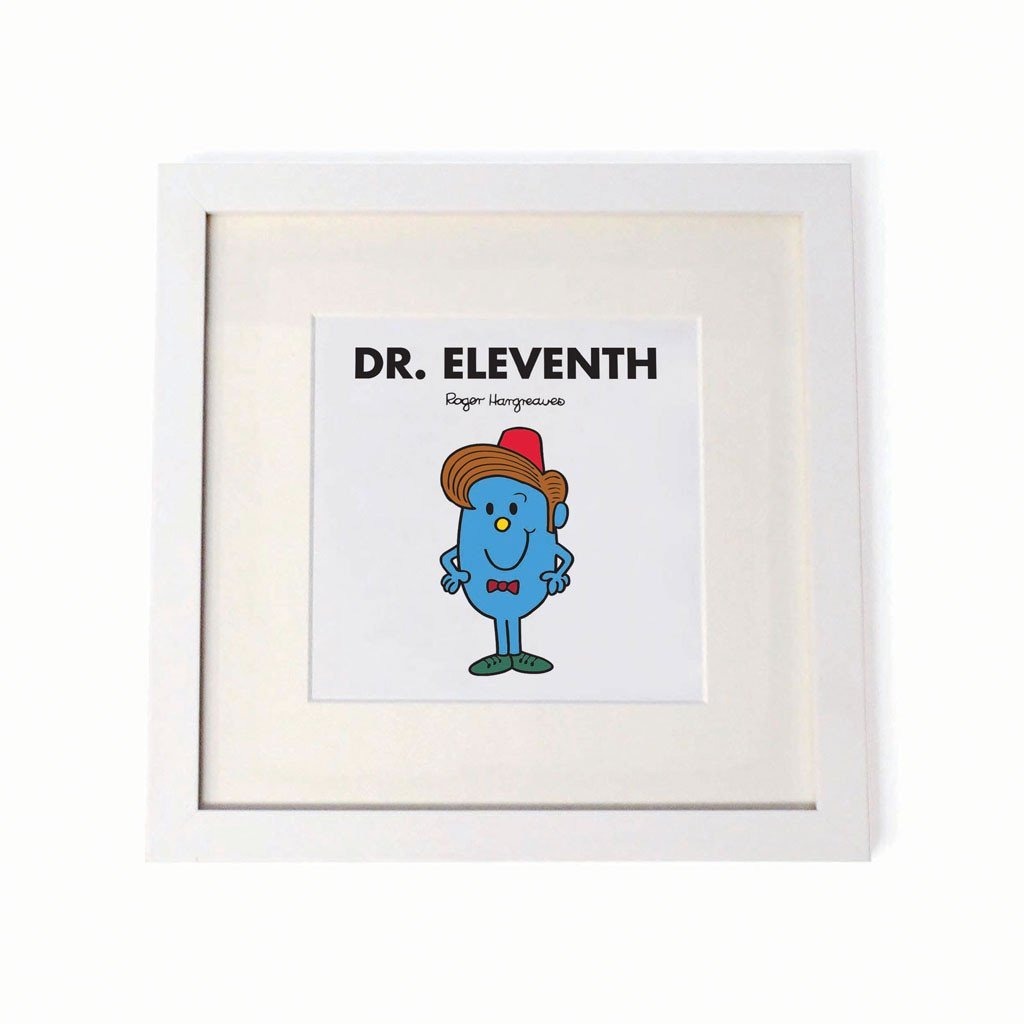 Mr. Men - Dr. Eleventh Square Print