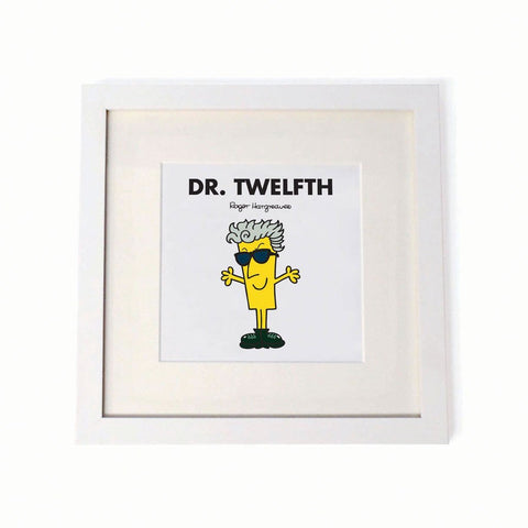 Mr. Men - Dr. Twelfth Square Print