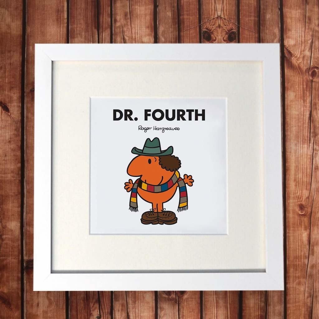 Mr. Men - Dr. Fourth Square Print