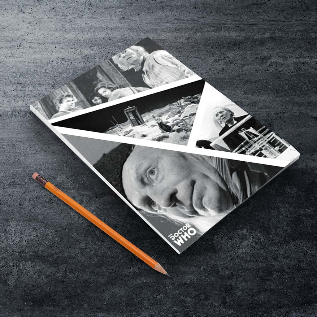 First Doctor Photographic A5 Notepad (Lifestyle)