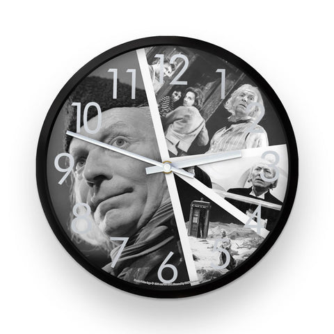 First Doctor Photographic Clock