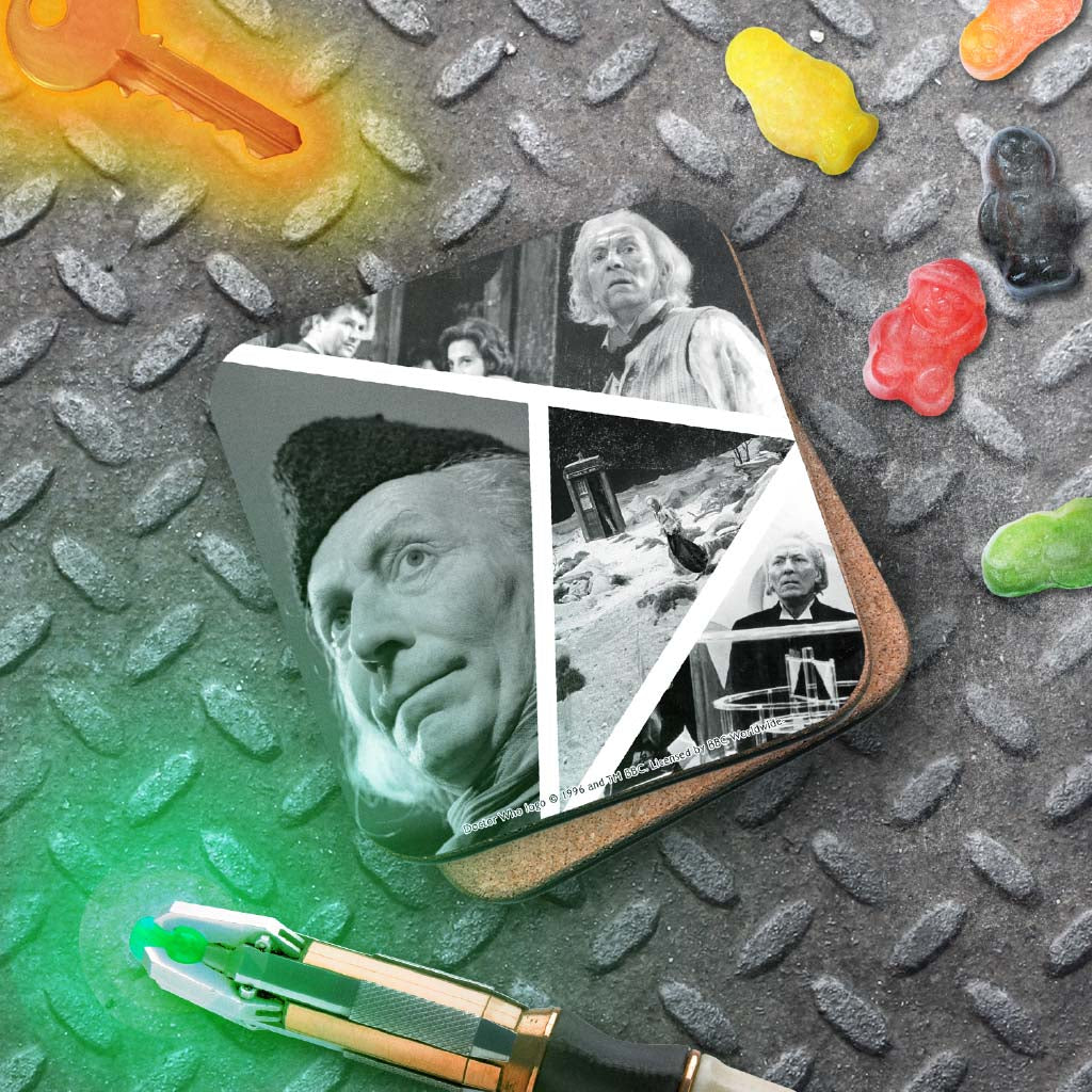First Doctor Photographic Coaster (Lifestyle)