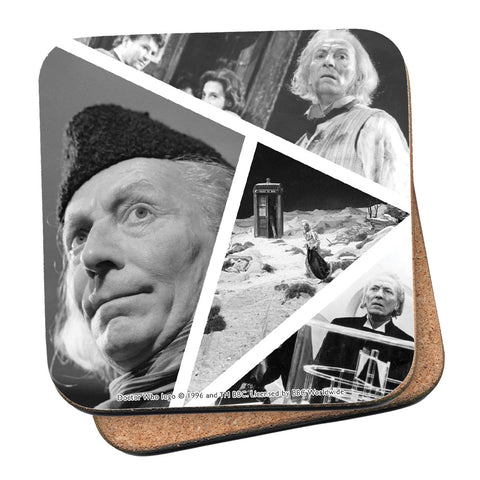 First Doctor Photographic Coaster