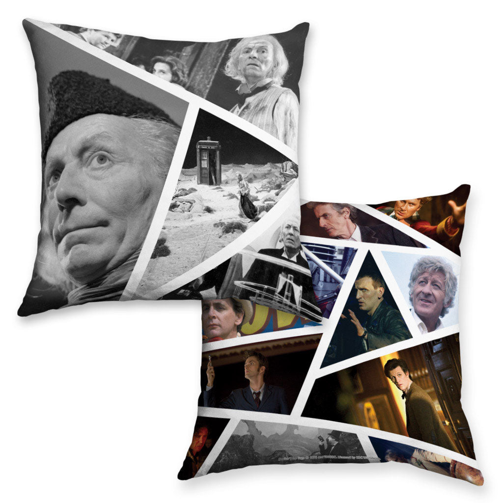 First Doctor Photographic Cushion