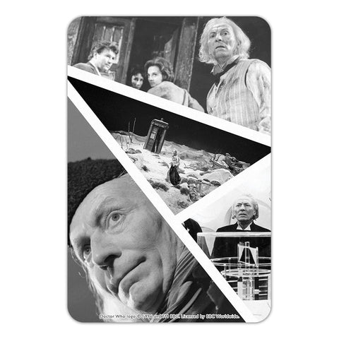 First Doctor Photographic Door Plaque