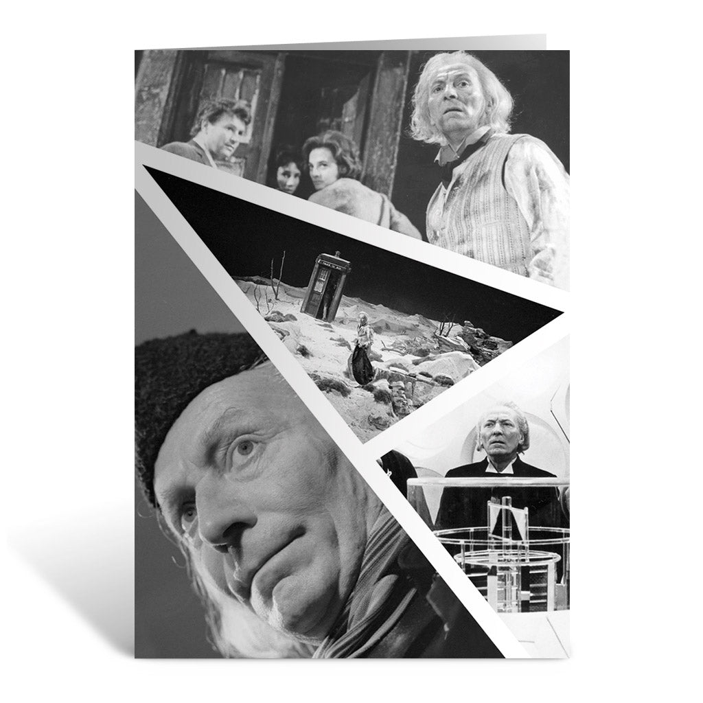 First Doctor Photographic Greeting Card