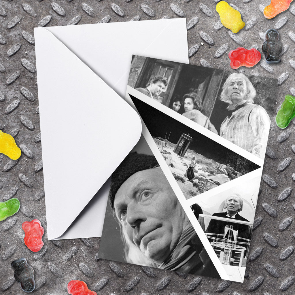 First Doctor Photographic Greeting Card (Lifestyle)