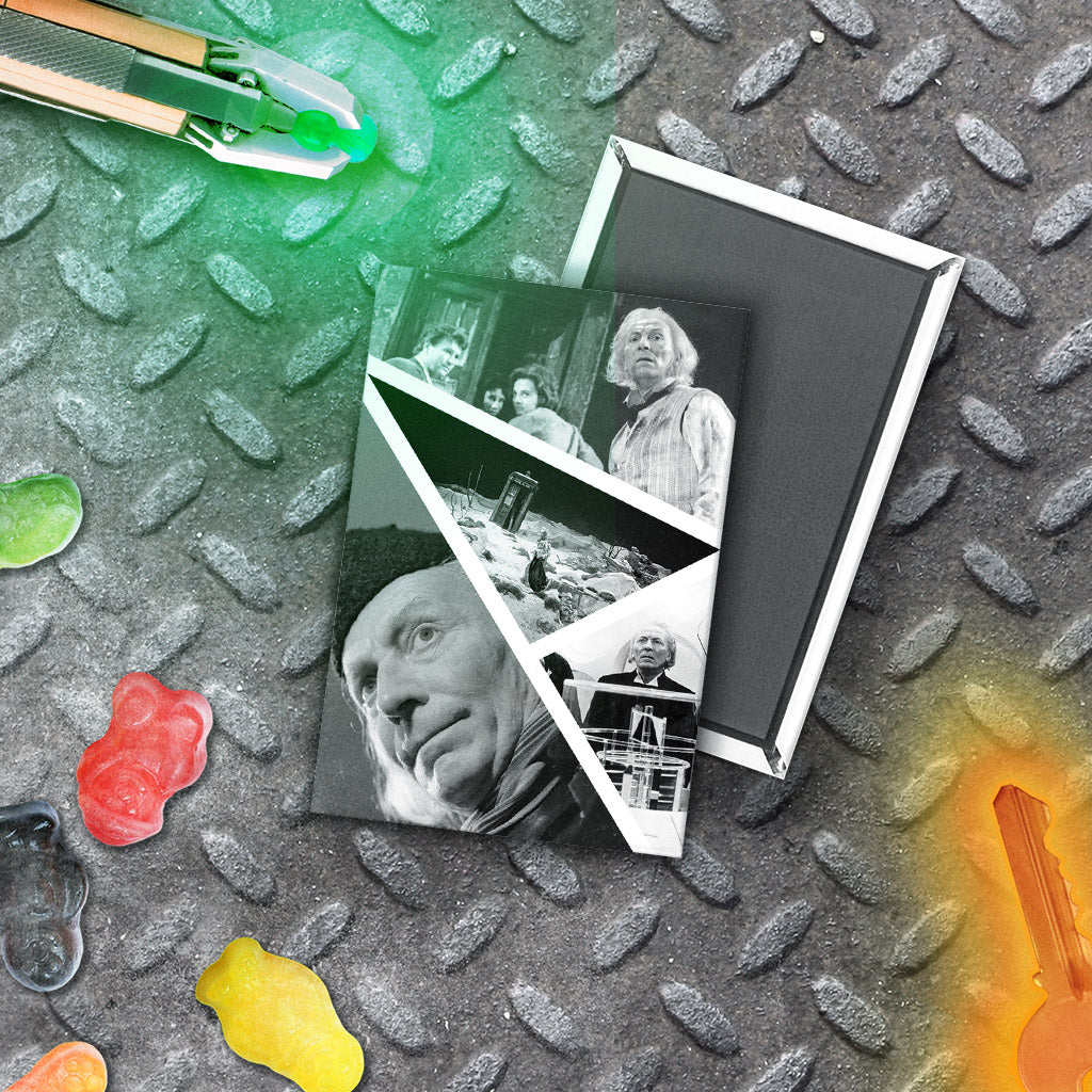 First Doctor Photographic Magnet (Lifestyle)