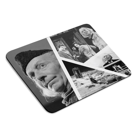 First Doctor Photographic Mousemat