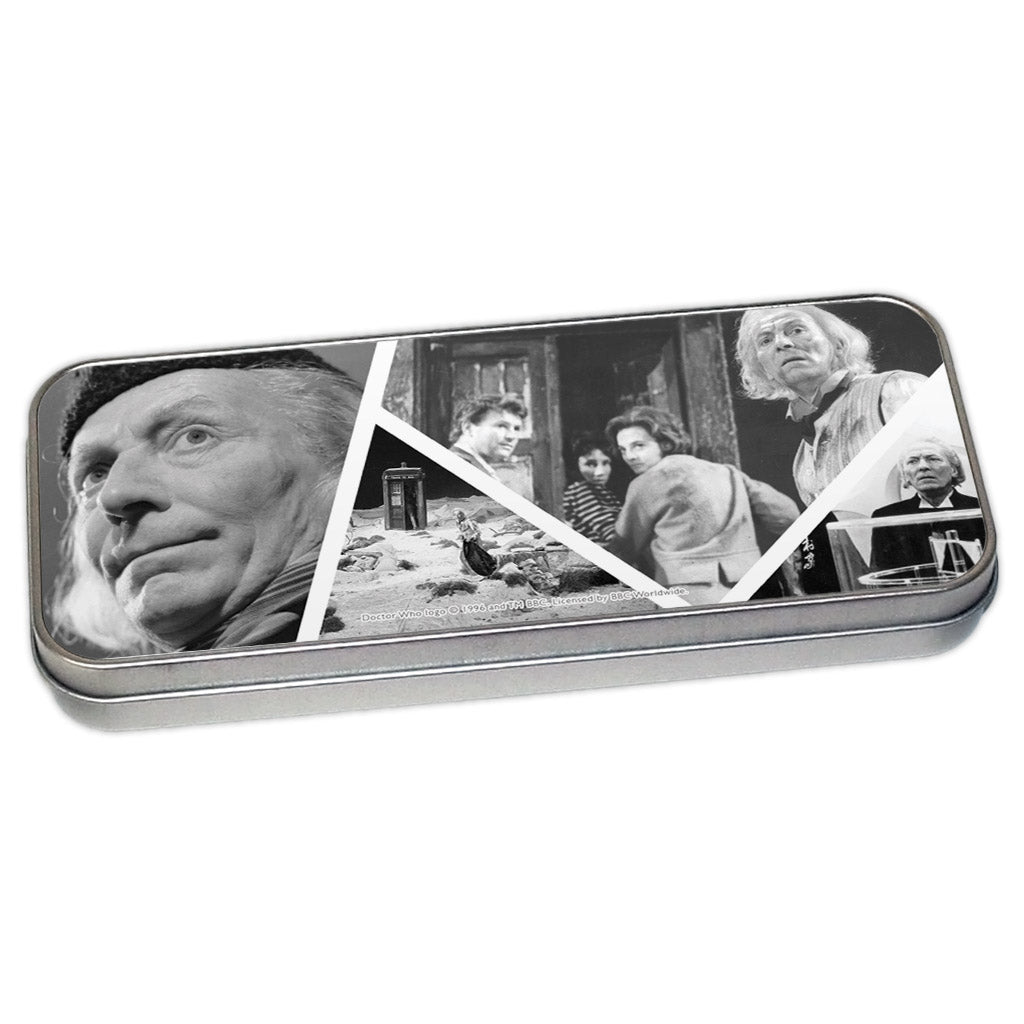 First Doctor Photographic Pencil Tin